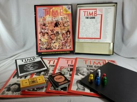 Time Magazine THE GAME 1983 Trivia Questions 1983 Board Game Complete - $9.50