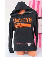 PINK VS Collegiate Collection Cowboys OSU Hooded Sport Sweat Jacket XS D... - $47.99