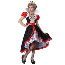 Adult Woman Flirty Queen of Hearts Alice In Wonderland Storybook And Fai... - $125.00