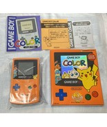 Game Boy Color Pokemon Center Limited Pokemon 3rd Anniversary Version Or... - $765.92