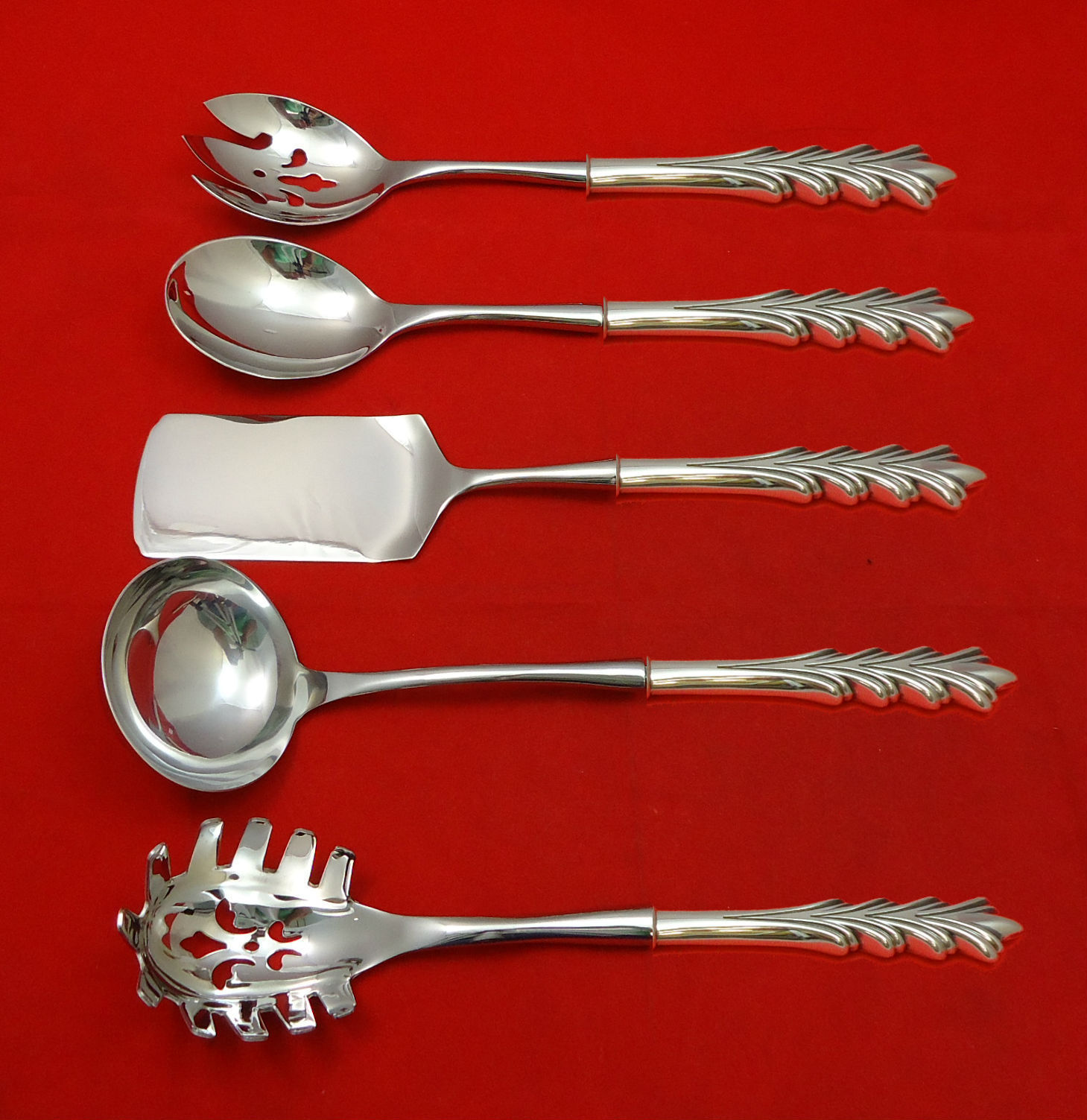 Primary image for Crest of Arden by Tuttle Sterling Silver Hostess Set 5pc HHWS  Custom Made