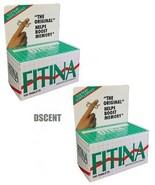 2 Pack Of Fitina Original Memory Boost Daily Dietary Supplement 100 Tablets - $23.75