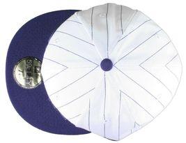 Dissizit NEW ERA Aderente Cappello Baseball Bianco/Navy Pinstripe York City Nyc image 6