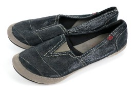Big Buddha Slip-on Flats Pewter Gray/Black Ball... - $19.95