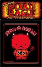 HELL-O SATAN 666 AIR FRESHENER black death thrash metal goth gothic evil... - $5.93