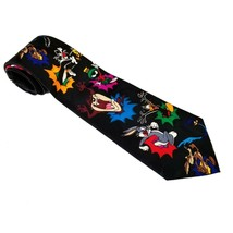 Looney Tunes Mania Character Tie Bugs, Daffy, Taz, Marvin and More EUC - $13.97