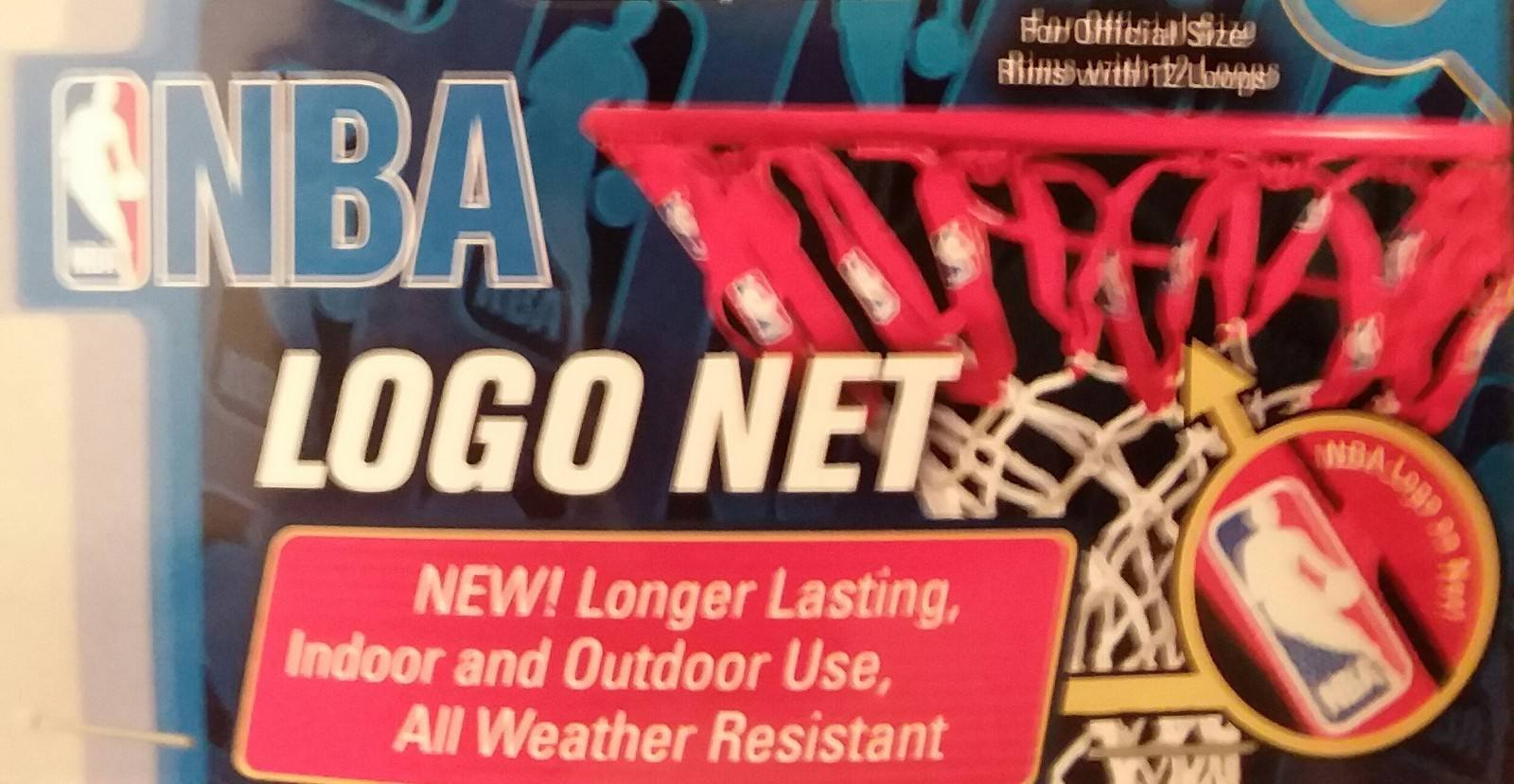 NBA Logo Replacement Basketball Net (Indoor/Outdoor Use)