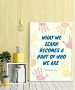 Colorful Nursery Decor, Neutral Nursery Decor, encourage Print - $1.00