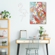 Flamingo   Original Abstract Painting by Artist Nikkii Foxx - $300.00