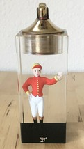 "Vtg ""21"" Club New York Restaurant Lucite Embedded Jockey Figurine Evans ... - $899.95"