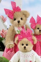 "Bearington Bears ""Tippy Tulip"" 14"" Collectible Bear- Sku#143229- New- 2010 - $39.99"