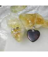 Heart Shaped Picasso Jasper Necklace Handmade Sterling Sliver Chain Hand... - $29.99