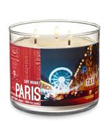 Bath & Body Works Paris Café Bouquet Three Wick 14.5 Ounces Scented Candle - $23.47