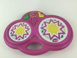 Barney Magic Bongos Drum Toy Musical Instrument Playskool Vintage 1998 9... - $26.68