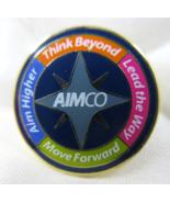 AIMCO Pin Goldtone Colorful Enamel Advertising - $6.00