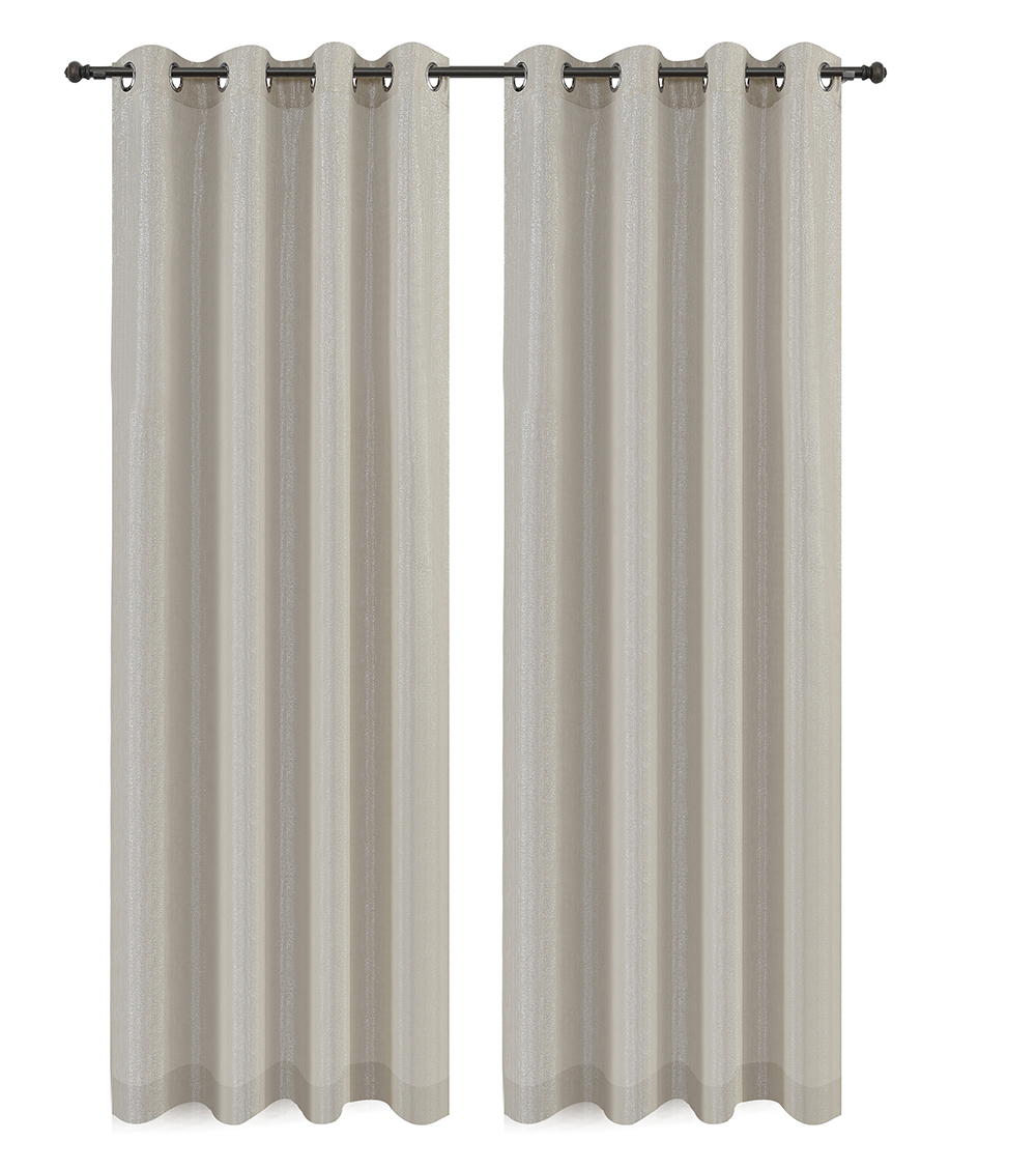 Urbanest Cosmo Set of 2 Sheer Curtain Panels w/ Grommets image 3