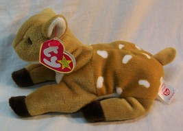 "TY Beanie Babies WHISPER THE FAWN DEER 7"" Stuffed Animal Toy NEW - $15.35"