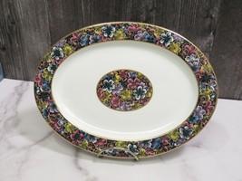 "Antique Royal Worcester for Tiffany & Co Imari Floral Oval Platter 10 3/8"" - $23.76"