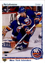 Pat LaFontaine 1990-91 Upper Deck Card #246 - $0.99