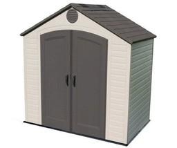 Lifetime 8x5 Plastic Storage Shed Kit w/ Floor (6418) - $924.15