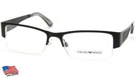 New Emporio Armani Ea 1018 3001 Black Eyeglasses Frame 53-17-140mm B32mm - $103.93