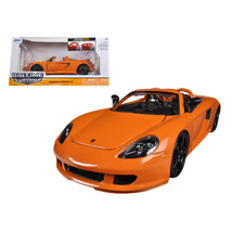 2005 Porsche Carrera GT Orange 1/24 Diecast Car Model by Jada 96955or - $29.34