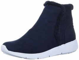 Anne Klein Women's Therefore Bootie Ankle Boot 6.5 Navy - £60.12 GBP
