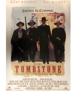 TOMBSTONE SIGNED MOVIE POSTER - $180.00