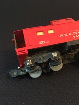 American Flyer Railroad Car Reading #630 - Red Caboose image 3