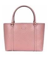 Gucci Women's Light Pink GG Microguccissima Soft Calf Leather Joy Shoppi... - $1,495.00