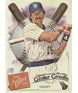 2019 Topps Allen and Ginter Ginter Greats #GG50 Robin Yount  - $0.50