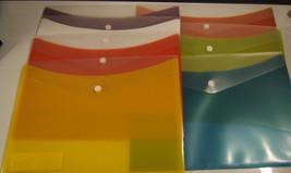 "Globe Weis Poly Snap Letter Envelope  Orange 9 1/4""x12 1/4"" 23,5x31,1 cm - $5.30"