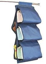 PANDA SUPERSTORE Hanging Storage Bag Handbag Over-The-Wardrobe Hanging Organizer