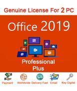 Microsoft Office 2019 Professional License Key NEW RELEASE Lifetime Key 2pc - $15.49