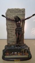 "Bradford Exchange ""Our Lord And Savior"" Bronze Sculpture - $63.86"