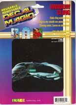 Star Trek: TNG Romulan Warbird Static Cling 6 x 6 Window Decal 1992 NEW ... - $6.85