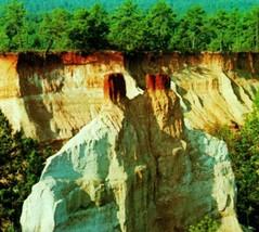 Lumpkin Géorgie Ga Providence Canyon État Park non Utilisé Unp Vtg Chromé - $3.94
