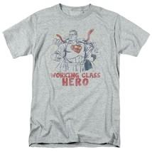 Superman T-shirt Working class hero retro DC comics distressed tee SM1951 image 1