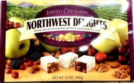 Liberty Orchards Northwest Delights Delicious Fruit & Nut Confections 12 oz - $19.79