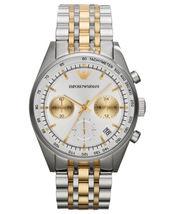 Emporio Armani Ar6116 Men´S Quartz Gold Two Tone Steel Watch - $146.99