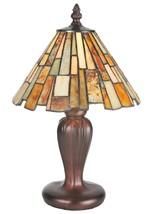 "Meyda Tiffany 72580 Jadestone Delta Mini Lamp, 13"" H - $158.40"