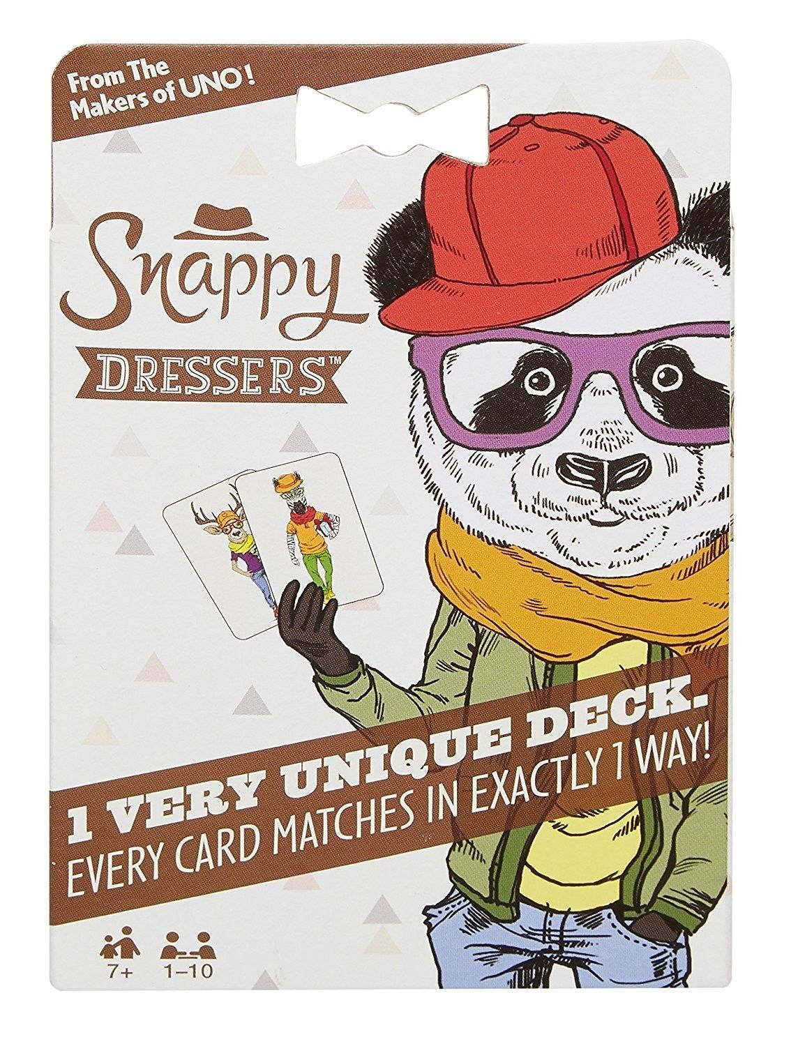 Snappy Dressers Card Game- From the makers of UNO!- FREE SHIPPING!!!
