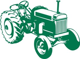 Farm Tractor Agriculture Vehicle Car Truck Window Laptop Vinyl Decal Sti... - $5.93 CAD+