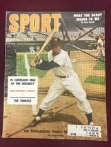 1956 Sport Magazine Willie Mays on the cover Giants ExNRMT - $64.35