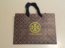"NEW!! Authentic Tory Burch Logo Empty Shopping Paper Gift Bag 9"" x 7"" x ... - $4.90"