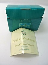 WDCC 11K413110 Caroler Minnie-Ornament Box & COA Only - No Figurine!! - $5.25