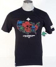 L-R-G Corpse Corps Smokin Em All Black Short Sleeve Cotton Tee T Shirt Mens NWT - $37.49