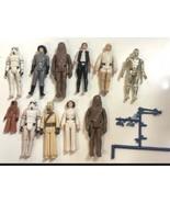 Vintage Star Wars 11 figures 1977 rare estate find enjoy pictures - $233.74