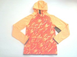 Nike Girls Therma Hoodie Sweatshirt - 806015 - Orange Peach 835 - Size L - NWT - $18.99