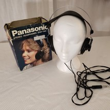 Panasonic EAH-T40 Vintage Stereo Headphones Made in Japan Tested Working... - $67.55 CAD